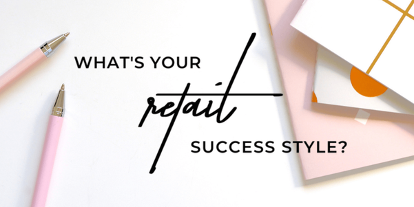Notebooks and pens | Retail Success Style Quiz | Take the quiz at MerchantMethod.com